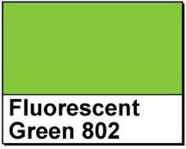 "Picture of 1"" Circle Thermal Transfer Labels, Fluorescent Green 802"