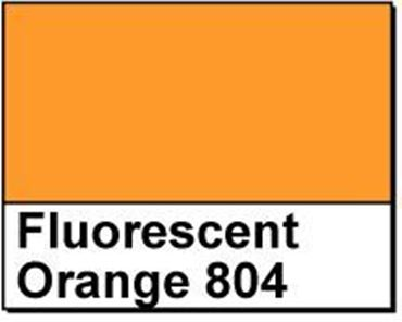 "Picture of 1"" Circle Thermal Transfer Labels, Fluorescent Orange 804"