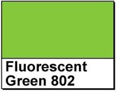 "Picture of 1.5"" Circle Thermal Transfer Labels, Fluorescent Green 802"