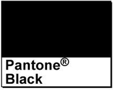 "Picture of 1.5"" Circle Thermal Transfer Labels, Pantone® Black, 3"" Core"