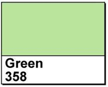 "Picture of 4"" X 6"" Direct Thermal Labels, Green 358, 3"" Core, Perfed"