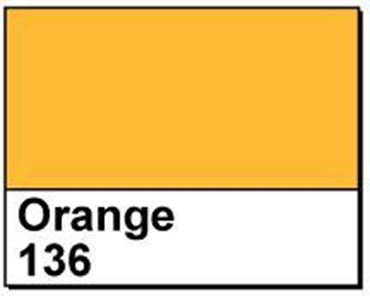 "Picture of 4"" X 6"" Direct Thermal Labels, Orange 136, 3"" Core, Perfed"