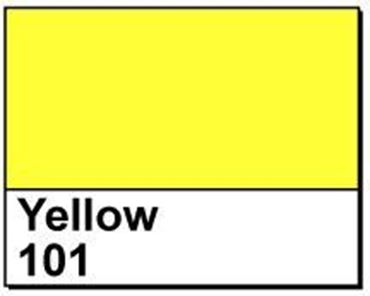 "Picture of 4"" X 6"" Direct Thermal Labels, Yellow 101, 3"" Core, Perfed"