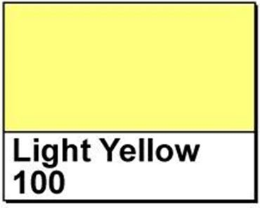 "Picture of 4"" X 6"" Thermal Transfer Labels, Light Yellow 100, 3"" Core"